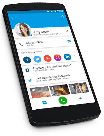 callapp contacts pour iphone