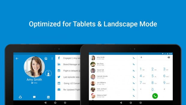 optimized for tablets
