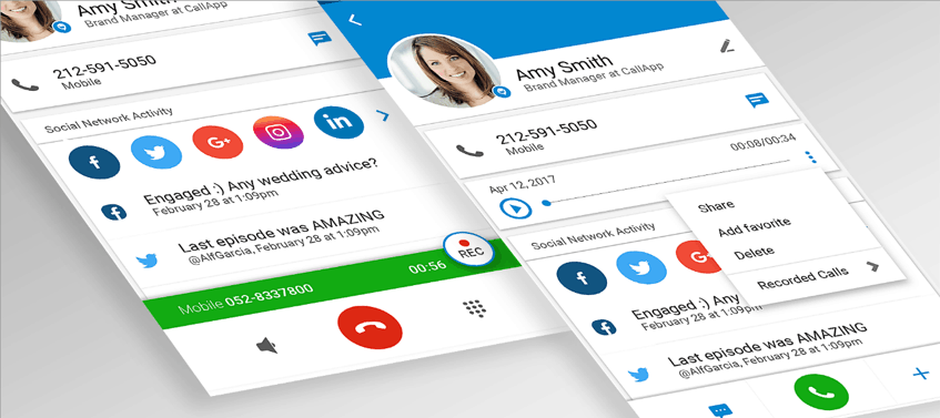 Automatic Phone call recorder for both incoming and outgoing phone calls
