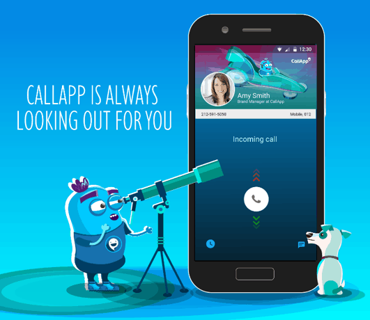 CallApp is always looking out for you