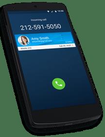 Caller ID - incoming call