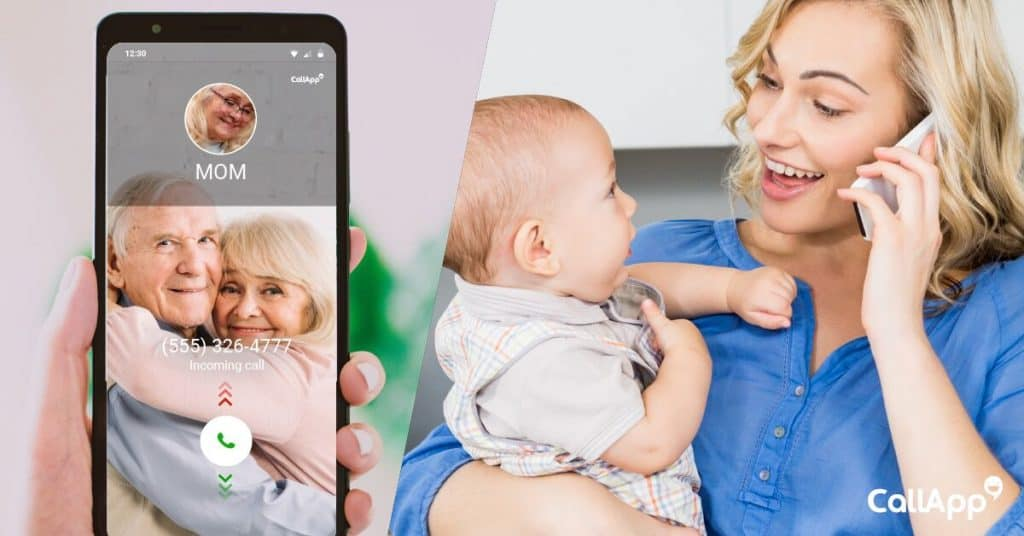Personalized call screens to keep the memories alive
